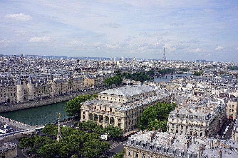 Paris vu d'en haut - Tour Saint Jacques