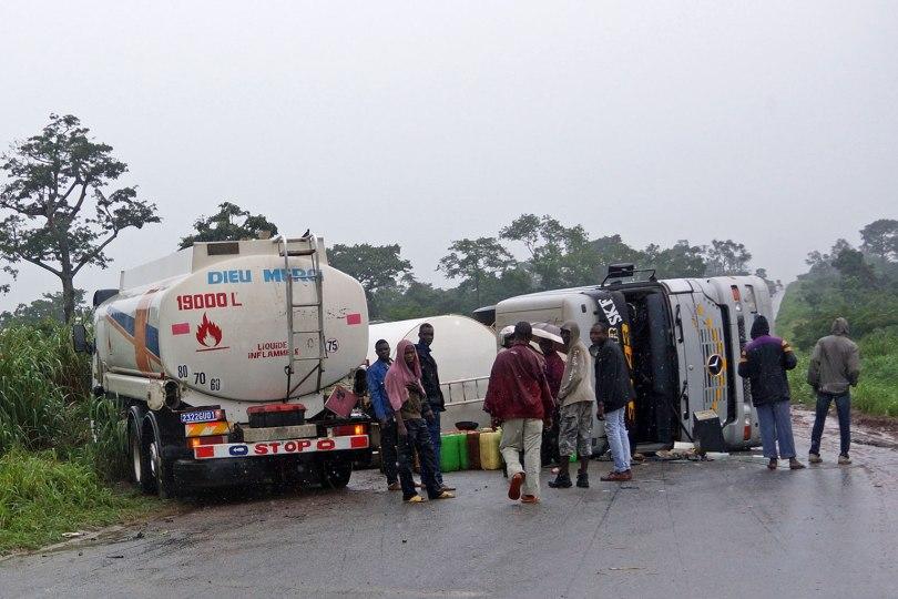 Accident de camions citernes - Côte d'Ivoire