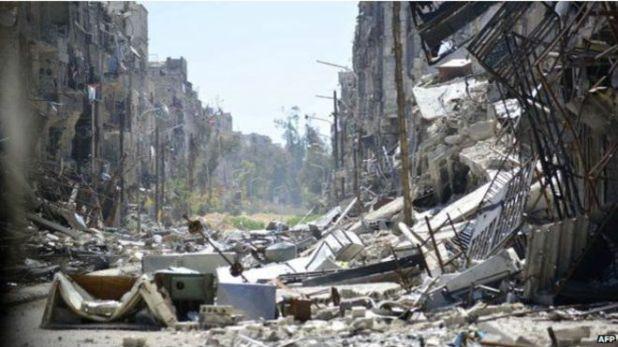 Yarmuk'ta 18 bin dolayında mültecinin yaşadığı tahmin ediliyor