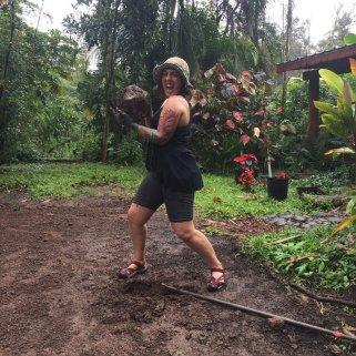 EcoFeminist Volunteer in the Rainforest!