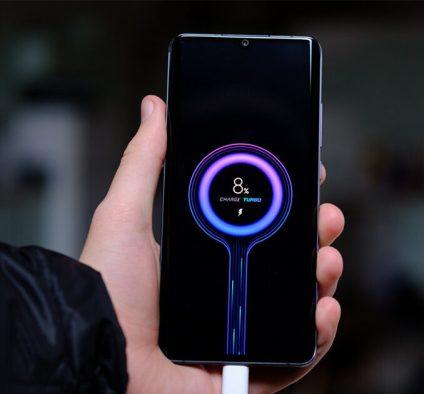 xiaomi battery charging screen