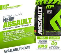 MusclePharm Assault New Formula #Gamechanger