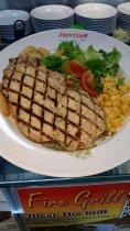 chicken chop at plaza singapura kopitiam