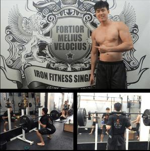 iron fitness singapore, heechai