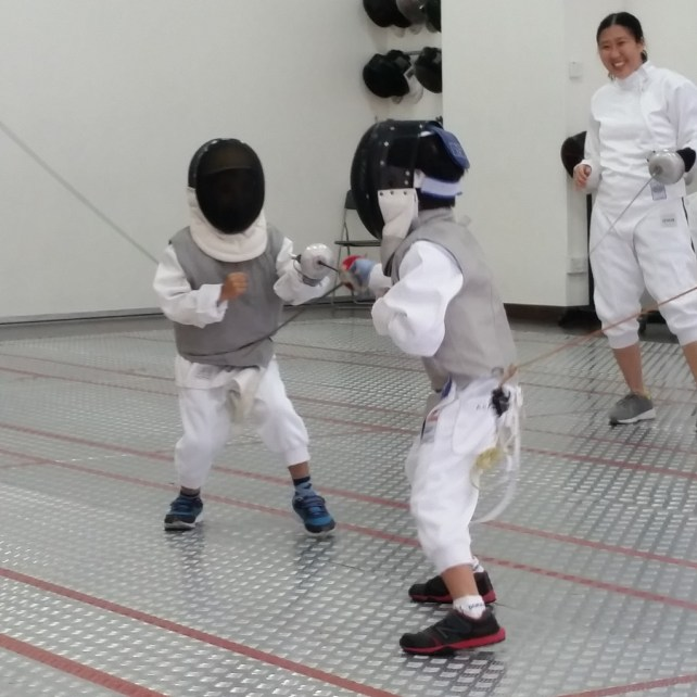 Kids Fencing, fencing for kids in Singapore