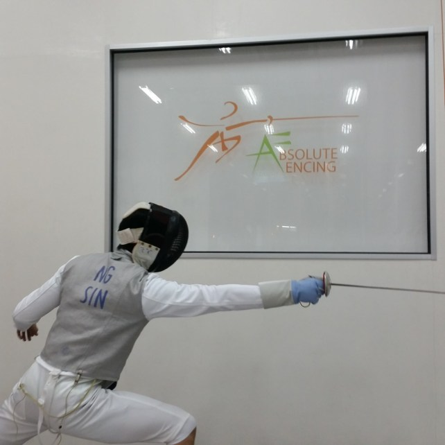 Fencing singapore, Absolute Fencing, Foil