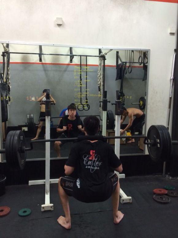 safety bar squat iron fitness singapore