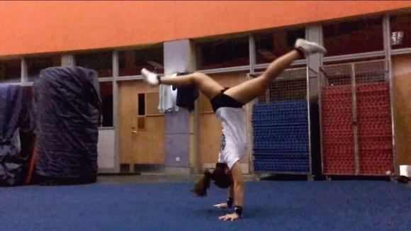 yun jie cheerleading