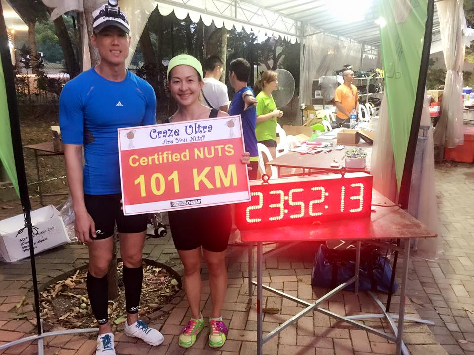 Charity Run : Craze Ultra 2015 101km Fundraising for Singapore Cancer Society