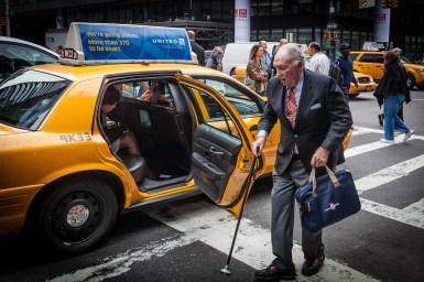 NYC straatfotografie, Yellow Cab