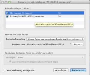 LR catalogus exporteren screenshot 3