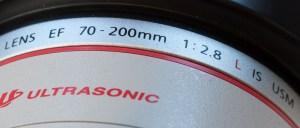 cijfers en aanduidingen op lens