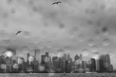 New York: Druppels kan je dus met een doekje van je lens afvegen. maar als je ze laat zitten dan kan je er weer leuke effecten mee bereiken in je foto.