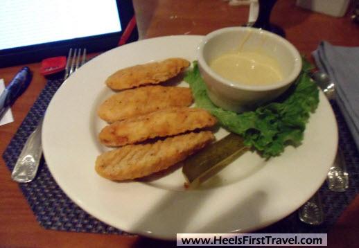 Sheraton Houston North Lobby Restaurant Chicken Fingers