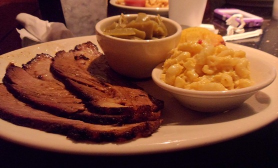 Dead End BBQ Beef Brisket Plate