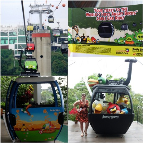 Angry Bird Cable Car Singapore