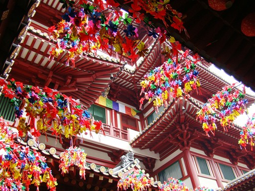 Buddha Tooth Relic Temple Decorations