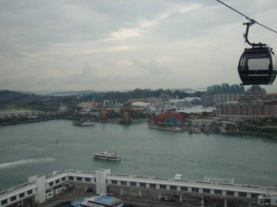View of Sentosa Island