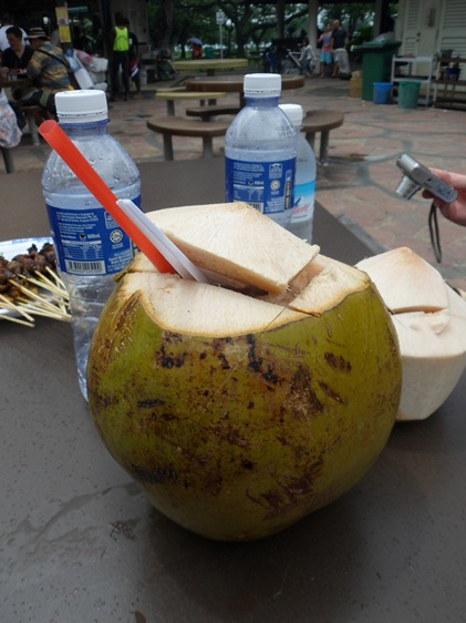 East Lagoon Food Village coconut