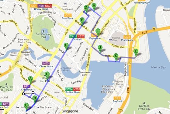 Singapore Walking Tour