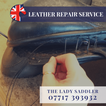 Leather Repair Service Ad