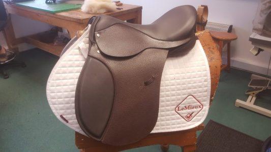 Level 3 exam saddle