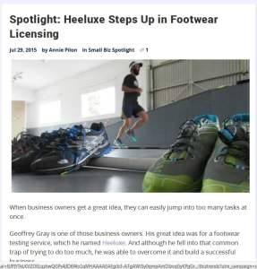 Spotlight: Heeluxe Steps Up in Footwear Licensing - Mozilla Firefox