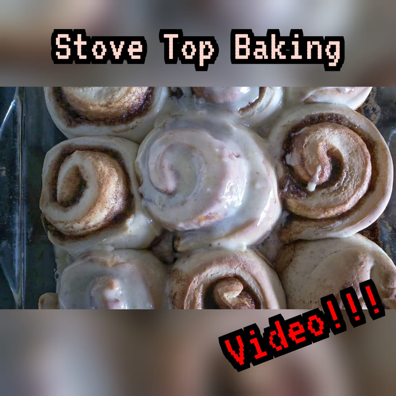 Wednesday Wisdom: Stove Top baking Video