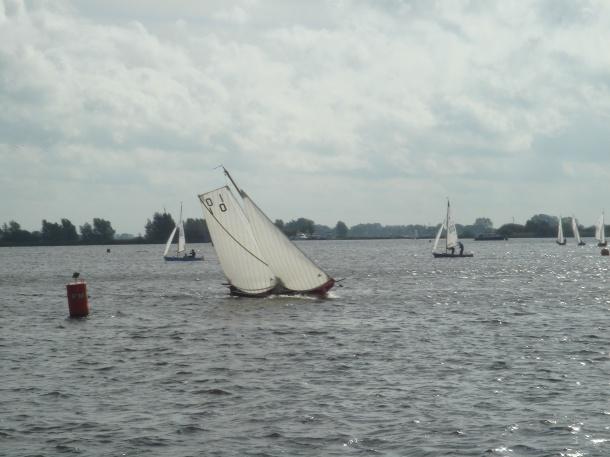 Een wedstrijdschouw op het Pikmeer.