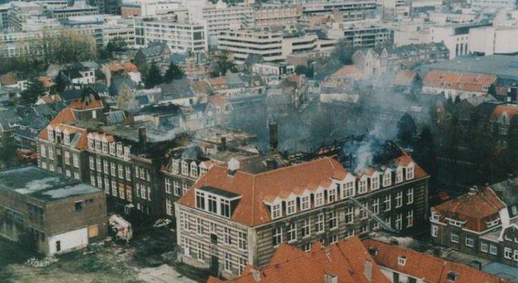 Bron: Rijckheyt.nl | Ambachtsschool in brand 31-10-2012