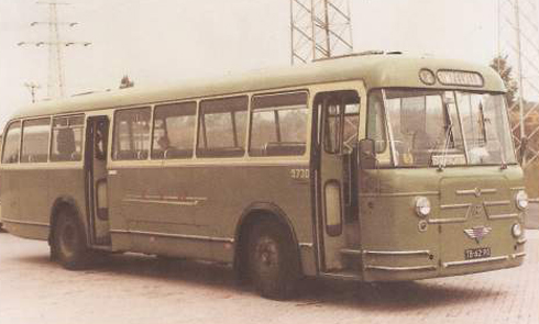 Bron: Bert Nijkamp | AEC Regal Mark IV/Roset, LTM 5730 In dienst van 1960-1980