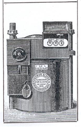 Bron: geheugenvanoost.nl | Voorbeeld van een gasmuntmeter