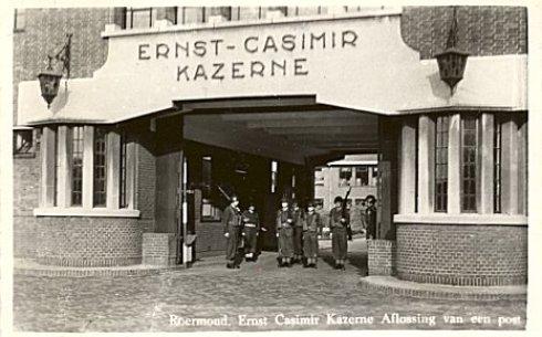 Bron: Legerplaatsen.nl | Roermond: Ernst Casimir Kazerne