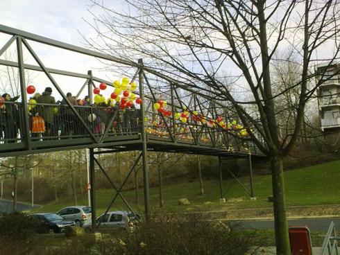 Bron: Privé collectie Dhr. Leentjens | Feestelijke opening brug Zeswegen