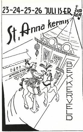 Bron: Privé collectie | Programmaboekje St. Anna Kermis 1960