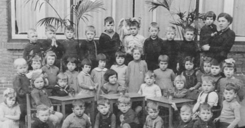 Bron: privé collectie | Kleuterschool 1940