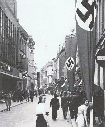Bron: Blikopdewereld.nl | Tweede Wereldoorlog in Maastricht, Grote Staat in 1942