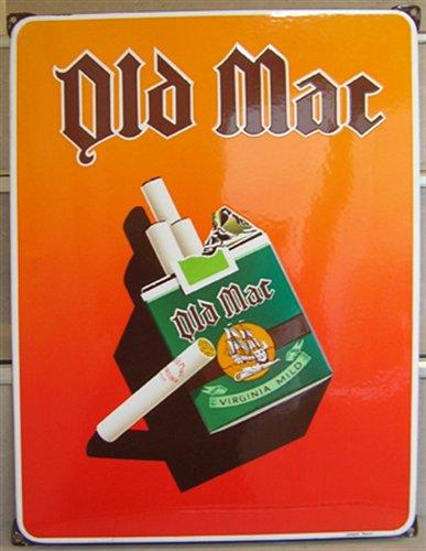 Bron: Collectiegelderland.nl | Reclame van Old Mac Sigaretten