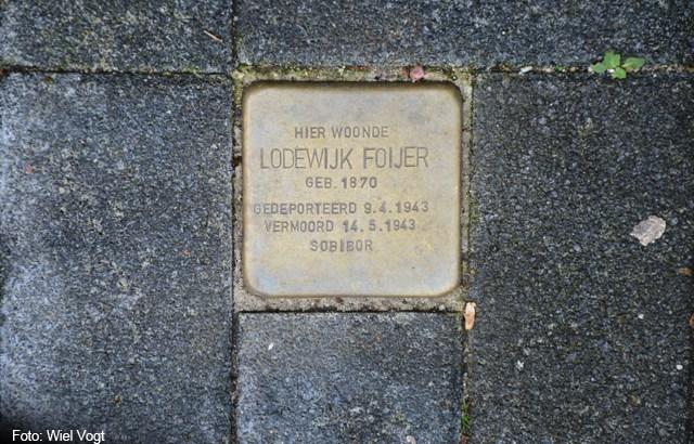 Bron: Wiel Vogt | Stolperstein Lodewijk Foijer