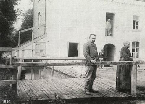Bron: Privé collectie | De molen in 1910