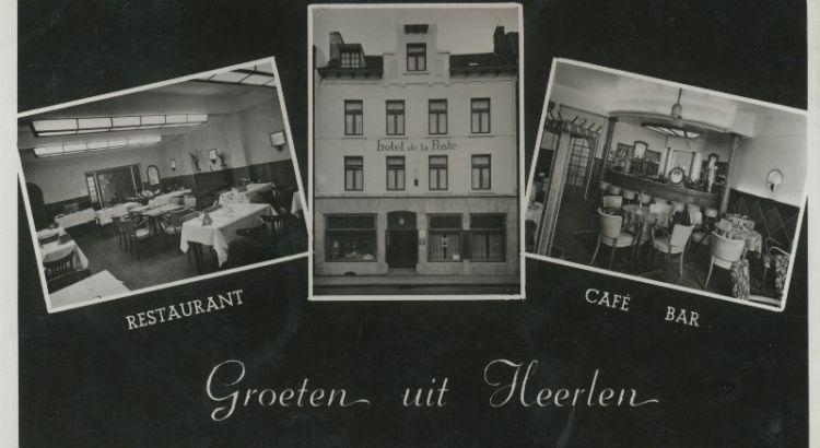 Bron: Rijckheyt.nl | Ansichtkaart van Hotel de la Poste