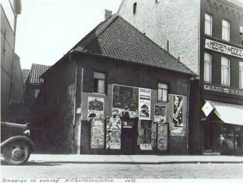 Bron: Rijckheyt.nl   Synagoge annex woning (1937).
