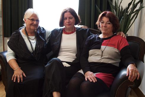 Foto: Bernice Israel | V.l.n.r. Francien Jurgen, Jeane Duprez en Leny Buntinx