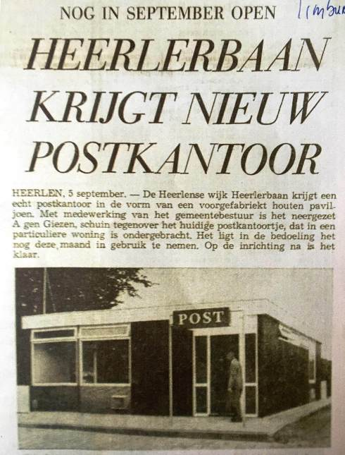 Bron: Limburgs Dagblad, 5 september 1967.