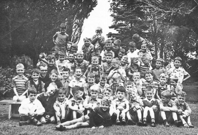 Huub, foto 1e klas broederschool, 1960