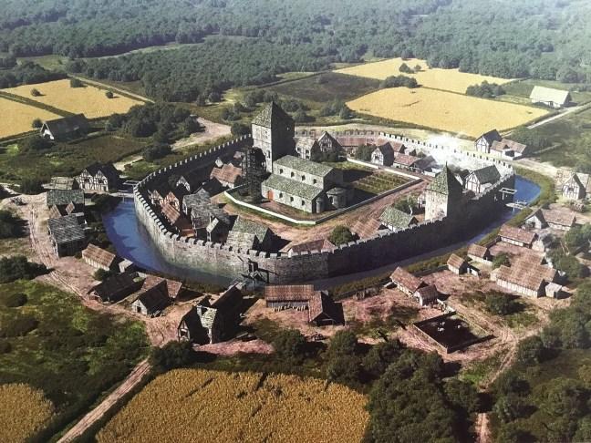 Het dorp Heerlen in de Middeleeuwen