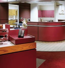 TMI Systems - Reception Desk