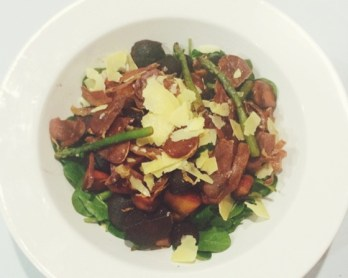Roast balsamic vegetable salad // www.heidiandcoco.com