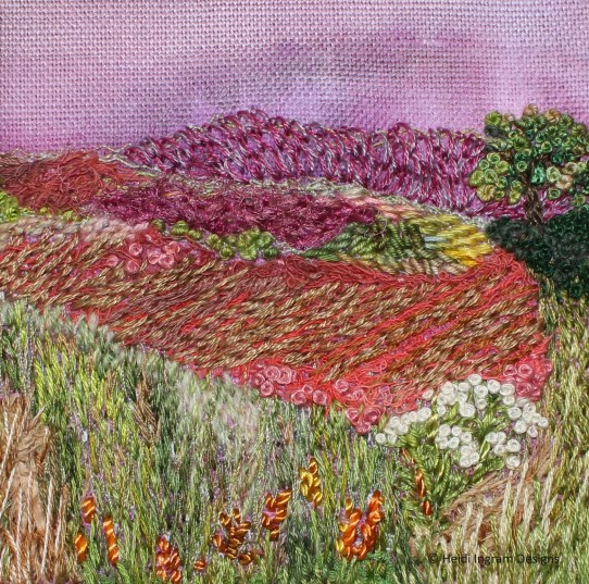 Autumn Landscape embroidery