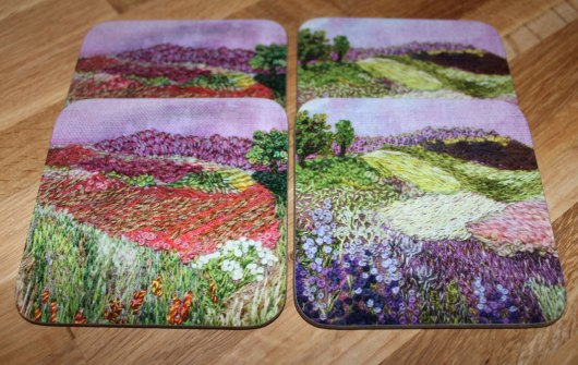 Set of four coasters